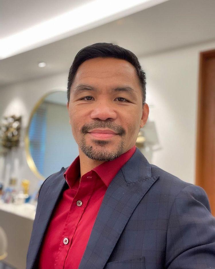 Manny (Pacman) Pacquiao, petinju Filipina yang menjadi calon presiden. Foto: Instagram Manny Pacquiao
