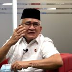 Politikus PDI Perjuangan Ruhut Sitompul komentari pernyataan Novel Bamukmin yang menyinggung ibadah Pak Jokowi & Kiai Ma'ruf saat bicara kriminalisasi ulama terkait perkara Habib Rizieq. Foto: Ricardo/JPNN