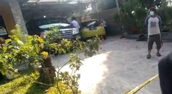 Lokasi kasus pembunuhan ibu dan anak di Jalancagak, Kabupaten Subang, Jawa Barat. (ANTARA/Dokumentasi Pribadi)