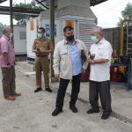 Anggota DPRD Jabar Sugianto Nangolah dan Rombongan mengunjungi kantor BUMD Hulu Migas Jabar yang kondisinya tidak terurus