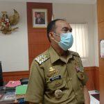 Plt. Wali Kota Cimahi Ngatiyana saat ditemui di kantor, Senin (18/10)(Intan Aida/Jabar Ekspres)