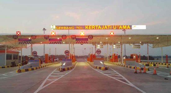 Gerbang Jalan Tol Kertajati di Kabupaten Majalengka, Jawa Barat. ANTARA/HO-Humas ASTRA Tol Cipali
