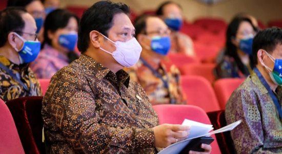 Menteri Koordinar Bidang Perekonomian Airlangga Hartarto 6