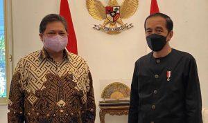 Menteri Koordinator BIdang Perekonomian mendampingi Presiden Joko widodo untuk terus menguatkan program bantuan sosial kepada masyarakat