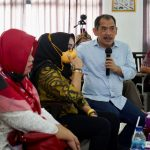 Rombongan Komisi V DPRD Jabar melakukan kujungan kerja ke Karawang untuk meninjau Pusat Belajar Guru.