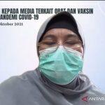 Tangkapan layar Ketua Kelompok Kerja (Pokja) Infeksi Perhimpunan Dokter Paru Indonesia (PDPI) Erlina Burhan saat menghadiri agenda webinar kesehatan di Jakarta, Selasa (19/10/2021). (ANTARA/Andi Firdaus).