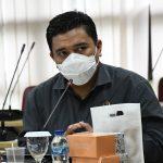 Sekretaris Komisi II DPRD Jabar Yunandar Eka Prawira dari Fraksi PDIP