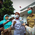 Tim PBHS Jabar ketika melakukan monitoring PTM di Kota Bandung