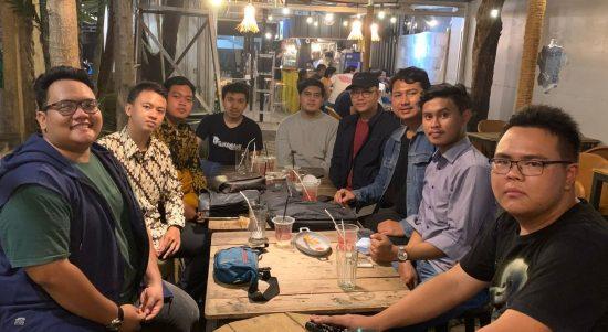 Foto bersama perwakilan anggota Cipayung Plus Kota Depok. (Haris Samsuddin/Jabar Ekspres)