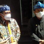 Wakil Walikota Bandung, Yana Mulyana (kanan) Kamis (21/10).