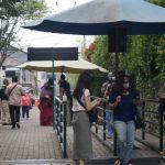 ILUSTRASI: Pengunjung terus berdatangan ke objek wisata TGAA Lembang saat libur akhir pekan.
