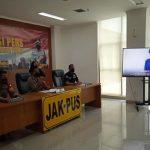 Polres Metro Jakarta Pusat mengungkap kasus tindakan asusila eksibisionis di Kawasan Stasiun Sudirman, Jakarta Pusat, Rabu (27/10/2021) ANTARA/Mentari Dwi Gayati