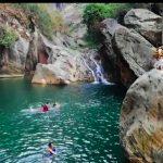 Ilustrasi wisatawan saat berlibur ke objek wisata Sanghyang Heuleut, di selatan KBB.