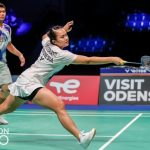 Praveen Jordan/Melati Daeva Oktavianti gagal lolos ke final Denmark Open 2021. (BWF/Badminton Photo)