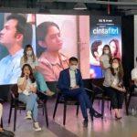 Jumpa pers serial Cinta Fitri di MD Place Setiabudi Jakarta Selatan, Senin (4/10). (Abdul Rahman/JawaPos.com) shireen wisnu