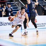 Guard tim nasional Indonesia Abraham Damar Grahita saat berlaga melawan Korea Selatan pada kualifikasi FIBA Asia Cup 2021. (FIBA Asia )